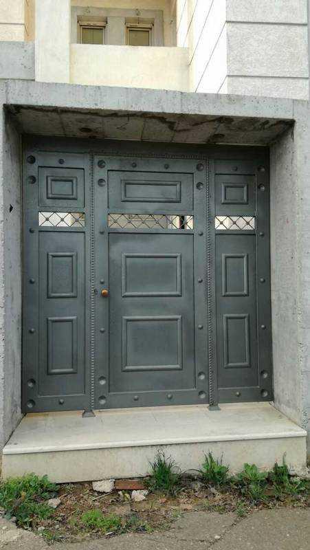 Μεταλλικές Πόρτες - Βίλα 1